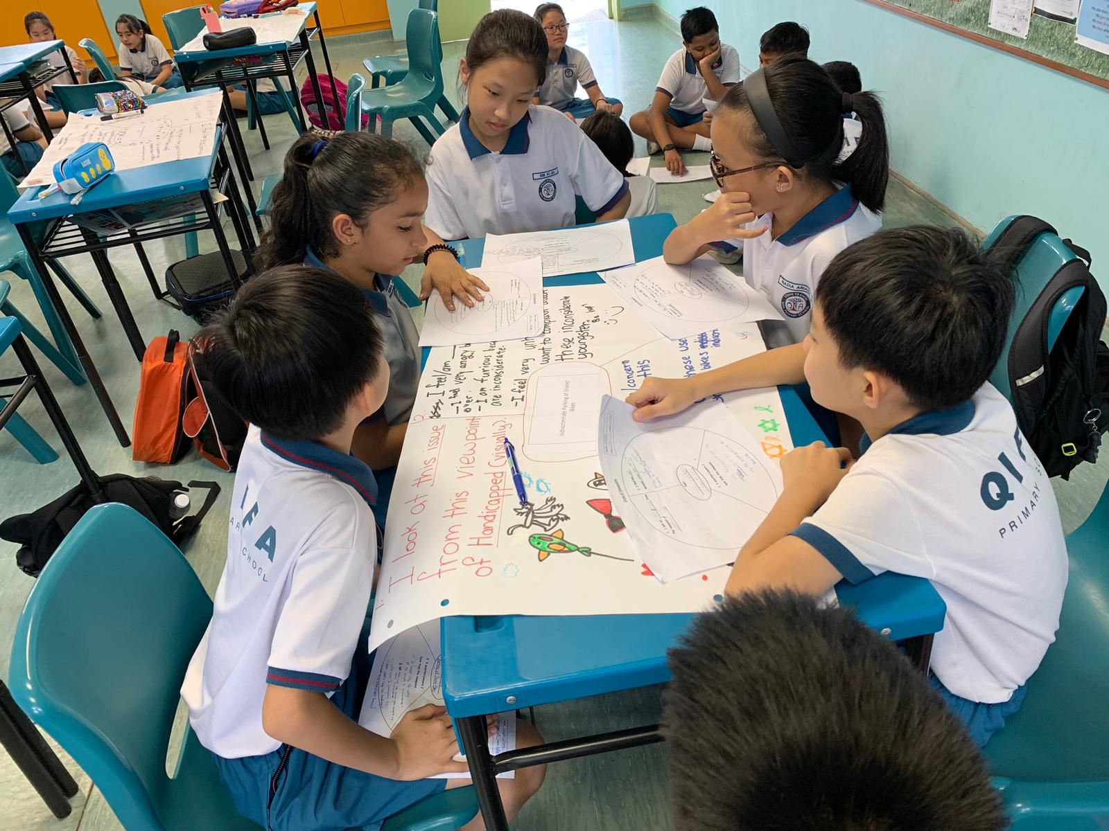 Pupils learnt to consider diverse perspectives on a topic.jpg
