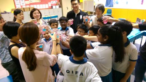 Participants of Project Roar celebrating with their teachers.jpg
